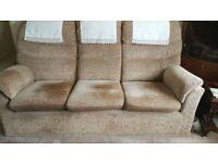 G plan 3&2 seater sofas