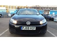 2009 Volkswagen Golf 1.6 TDI SE Hatchback 3dr Diesel Manual ** VERY LOW MILEGE ** not leon a3 astra