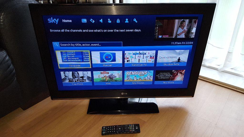 lg tv 32cs460. lg 32 inch lcd tv - model 32cs460 excellent condition lg tv 32cs460