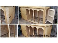 8ft x 4ft Luxury Dog Kennel and Run 🐕 Cattery🐈