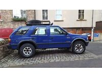 Vauxhall Frontera 4x4, 10 Months MOT