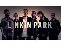 LINKIN PARK VIP TICKETS x 2 @ 02 ARENA LONDON MONDAY 3RD JULY 2017