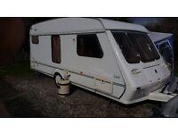 1997 4 berth caravan. Fleetwood garland 148-4ek luxe