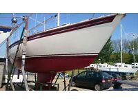 WESTERLY MERLIN 29 CRUISING YACHT LOVELY £16950 massive reduction TO SELL