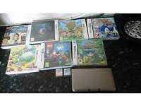 3ds xl and six games