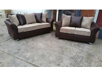 3+2 DERBY FABRIC SOFA BRAND NEW £375 !!!