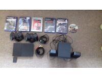 Playstation games & sound boaster £30