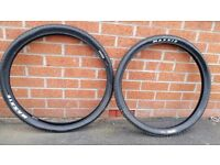 Ikon Maxxis folding mountain bike tyres