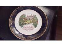 Decorative Souvenir Plate of Inveraray Castle