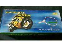 Motorbike miŕrors