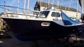 Fishing boat. Colvic Seaworker 23