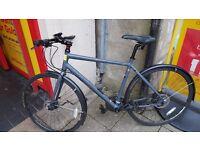 Mens ridgeback vanteo hybrid bike
