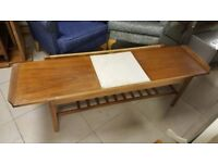 Rare Mid Century Remploy Extendable Coffee Table