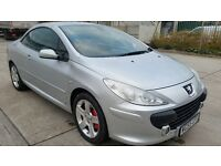 2006 PEUGEOT 307 CC SE HDI - FULLY SERVICED, SERVICE HISTORY, ONE OWNER, LOW MILES,PERFECT CONDITION