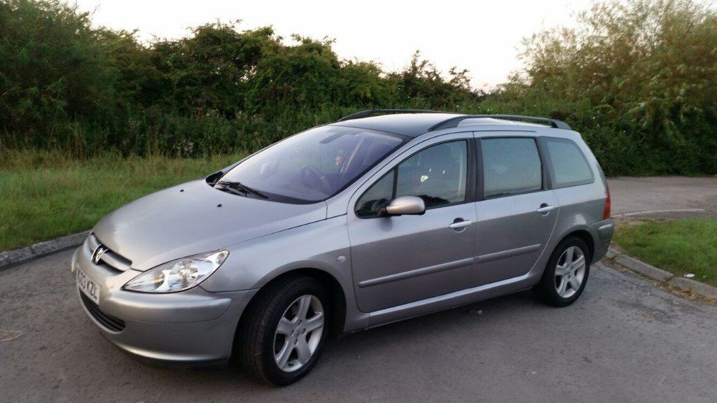 Peugeot 307 Sw 7 Seater 2 Litre Hdi Diesel 110 Bhp Excellent Runner Cheap Workhorse Or Family