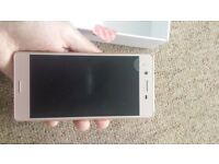 Sony Experia X rose gold brand new in box
