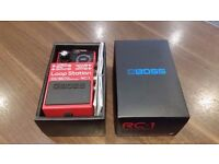 Boss RC-1 Loop Pedal Boxed