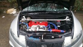 Honda Civic Type r GT Rotrex Supercharged 390BHP modified customised showcar