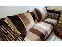 Beautiful Authentic Arabian Moroccan Sofa. Large. Great condition. Changeable covers.