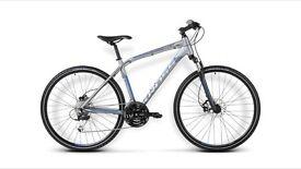 Hybrid or mountain, road bike