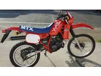 Honda mtx 125R motorcycle