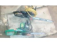 Electric power tools chainsaw saw wood chop