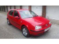 Volkswagen, GOLF, Hatchback, 2003, Manual, 1390 (cc), 5 doors