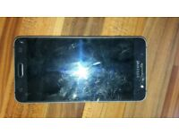 fully working samsung j5 2016 but it has a crack on it