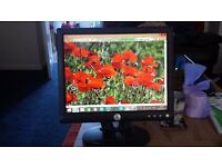 "Dell 15"" colour monitor excellent condition"