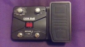GEM MULTI EFFECTS GUITAR PEDAL