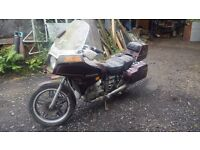 HONDA CX500 SILVERWING, RESTORATION PROJECT OR SPARES.