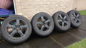 "16"" Winter tyres and alloys (205/55 R 16)"