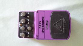 Behringer Bass Guitar Overdrive BOD400