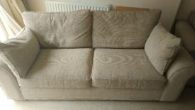 2/3 seater sofa and matching chair