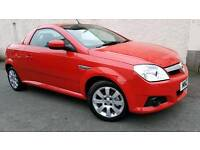 JULY 2008.VAUXHALL TIGRA,1,4,BRIGHT RED,207cc,mini,tt,mx5,mr2,vans,bmw,rs,ka,,golf,leon,clio,corsa,