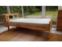 Junior bed IKEA KRITTER with accessories