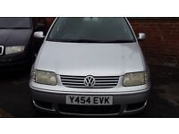 Volkswagen Polo 1.4 Petrol 3 door spares and repair runs and drives