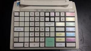 Preh Commander M84 WX - POS Point of Sale Keyboard - 84 Programmable Keys - PS/2