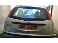 ford focus 1.6 2002 reliable car. This is a private sale, not trade.