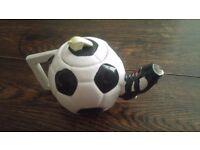 Tea pot for football fans