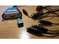 Belkin 2 Port Switch (2 PCs One Monitor)