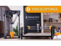 Optimus 3-in-1 all-in-one delta 3D printer
