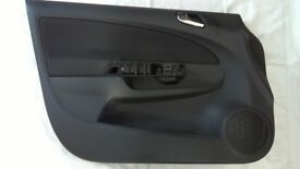 Front passenger side door card for Corsa D 1.4 SXi 5 door (2012) model