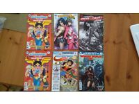 Wonder Woman six comics Justice league Vs power rangers issue 1 also Vs Suicide squad issue 1