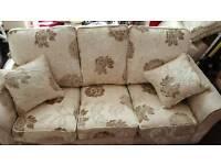 2 x 3 seater sofa