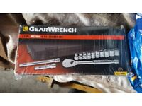 GEARWRENCH 13 PIECE METRIC 6PT 3/8 DRIVE SOCKET SET 80558 (BRAND NEW)