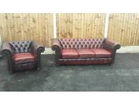 Old chesterfield suite