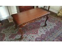 Old vintage coffee table