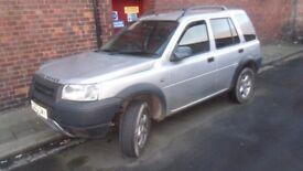 2003 freelander td4 automatic spares or repairs