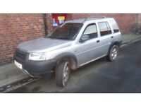 2003 freelander td4 automatic spares or repairs